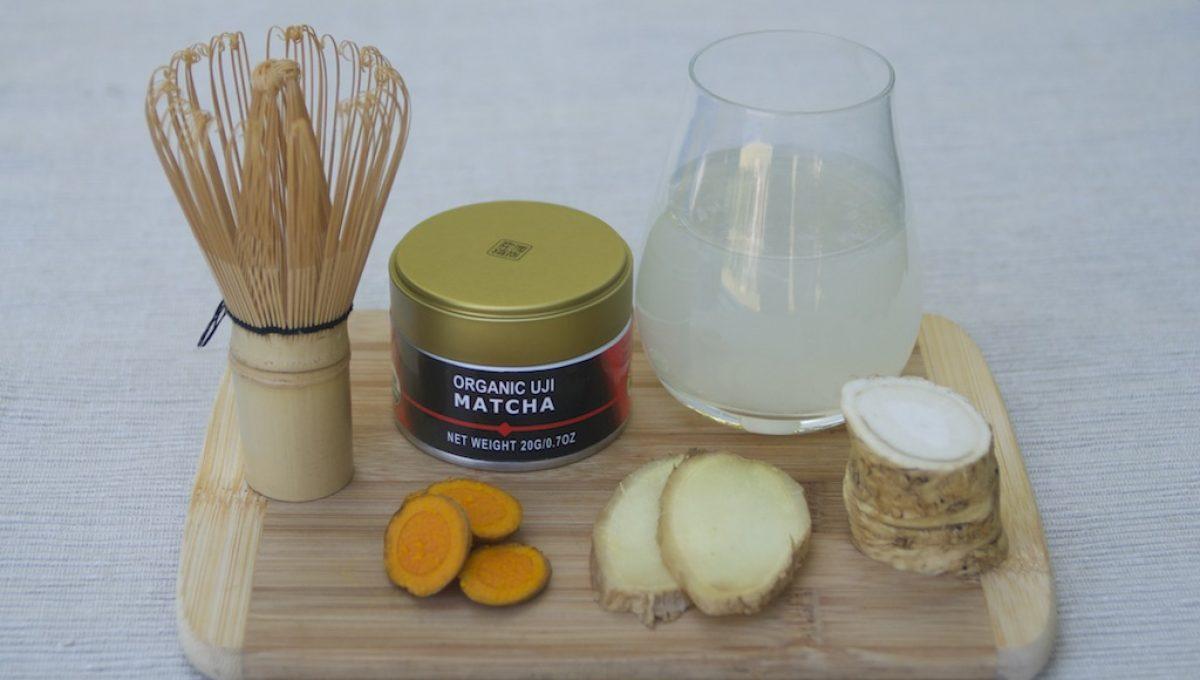 matcha shot ingredients